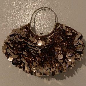 Vintage sequin mini purse